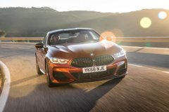BMW M850i Coupé en Sunset Orange